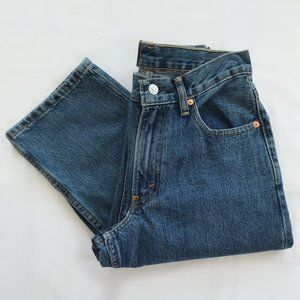 🎬✨ NWT Levi's 550 Blue Jeans Relaxed Fit 28 x 32